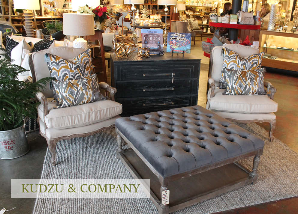 Etonnant Visiting Kudzu And Company Is A Complete Shopping Experience. You Can Come  To Our Gorgeous Store With A Specific List Of Items For Your Rooms Or You  Can ...