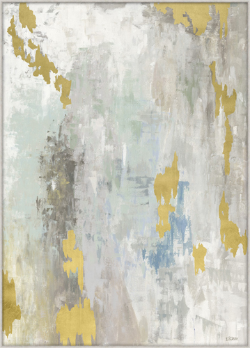Gold Abstract Painting Kudzu And Company