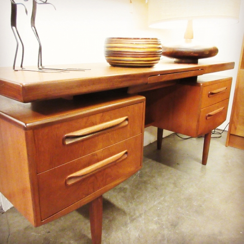 mid century furniture atlanta, authentic mid century, mid century desk