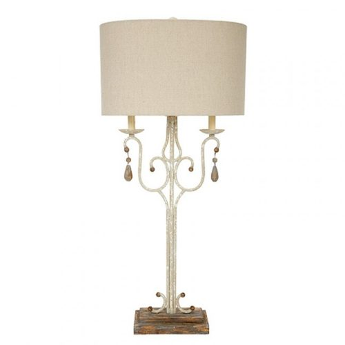 table lamp, french lamp, white lamp, fancy lamp , girl lamp