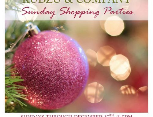 Sunday Shopping Parties