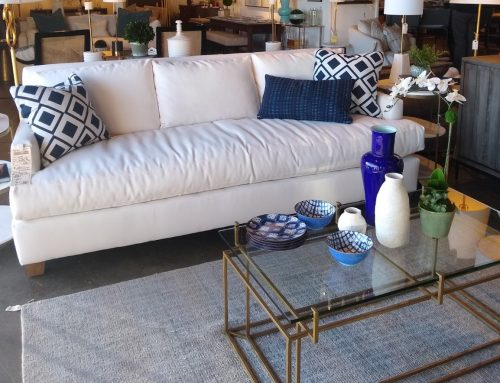 New Rowe Upholstery in the Showroom